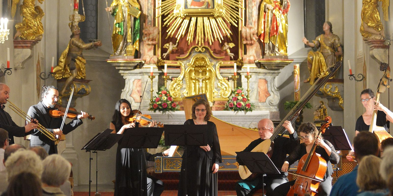 Musikensemble Laudonia in der Pfarrkirche